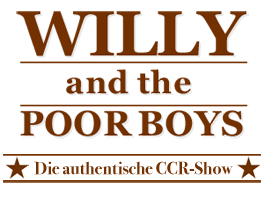 Logo Willy and the POOR BOYS